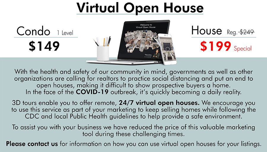 Real Estate Virtual Open House