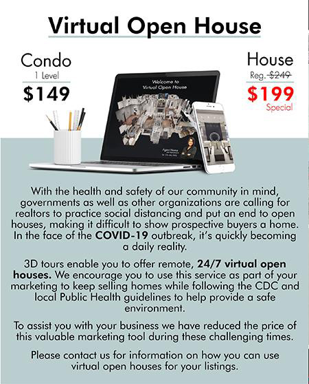 COVID-19 Real Estate Virtual Open House